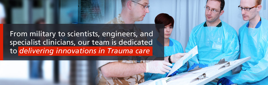 Delivering innovations in trauma care