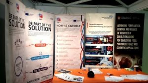 Trauma HTC, Innovation and MD-TEC stall at the Med-Tech Innovation Expo 2017